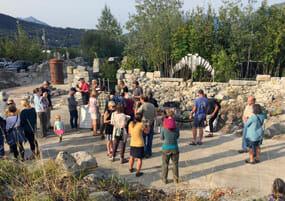Fort Seward Sculpture Garden