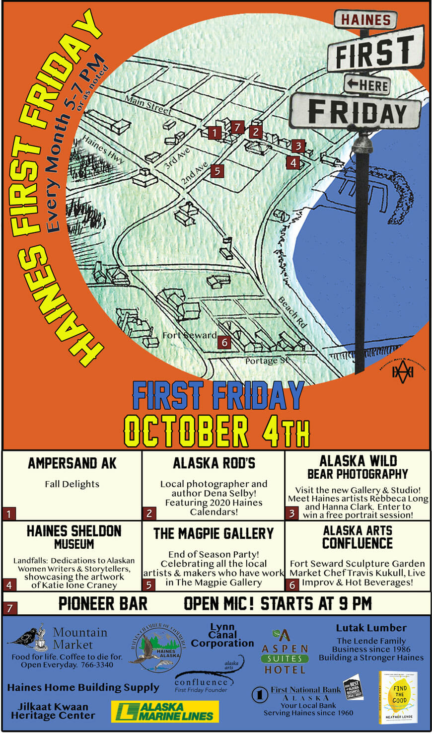 First Friday Haines Alaska October 4
